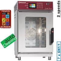 Elektro Ofen 7x GN Touch Screen, Auto-Cleaning