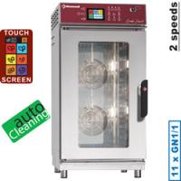 Elektro Ofen 11x GN Touch Screen, Auto-Cleaning
